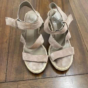 Vince Camuto wedges 7